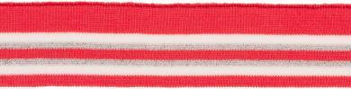 Bündchen 45mm rot