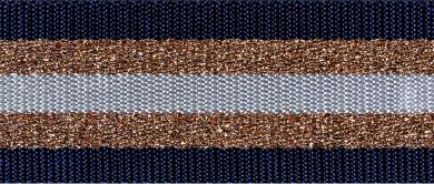 Webbing Stripes Lurex 38mm