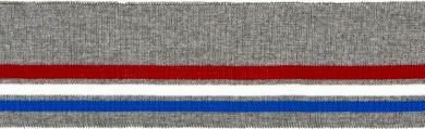 Großhandel Bündchen 70mm grau
