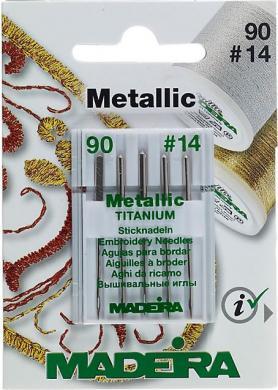 Maschinennadeln für Metallgarne