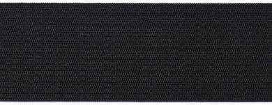 Gummiband 40mm schwarz 10m