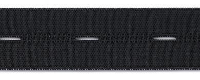 Knopfl Elastic 25mm Meterware