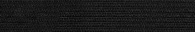 Großhandel Gummiband 15mm schwarz 150m