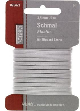 Schmal Elastic SB 3,5mm weiß