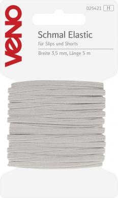 Großhandel Schmal Elastic SB 3,5mm weiß