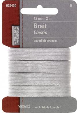 Großhandel Breit Elastic SB 12mm weiß
