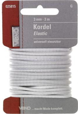 Großhandel Elastic Kordel SB 3,0mm
