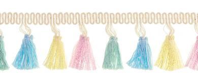 Großhandel Tasselborte 42mm Multicolor