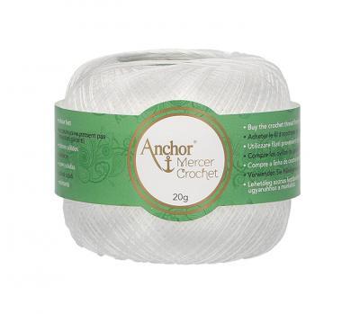 Mercer Crochet (Shiny Crochet Yarn) Size 60 20G