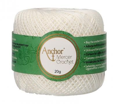 Mercer Crochet (Shiny Crochet Yarn) Size 60 20G