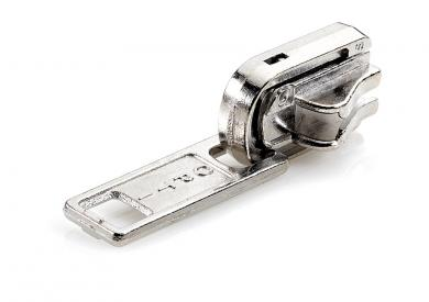 P60 Reverse Slide Silver Open-End