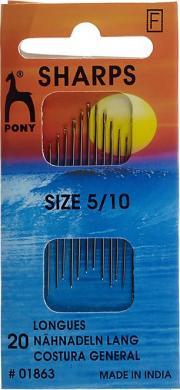 Großhandel Nähnnadeln lang ST 5-10 silber