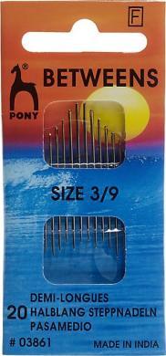 Großhandel Nähnnadeln halblang ST 3-9 silber