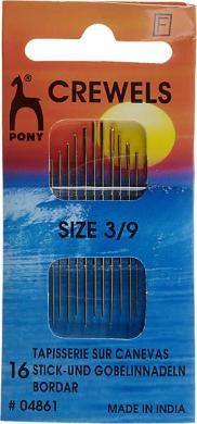 Großhandel Stick und Gobelin Nadeln ST 3-9 silber