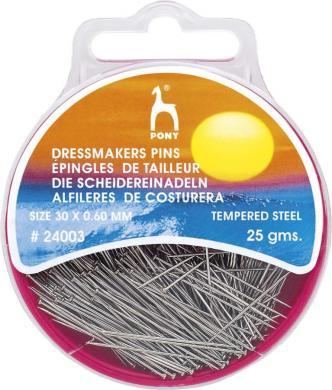Großhandel Schneiderstecknadeln ST 0,60 x 30 mm silber
