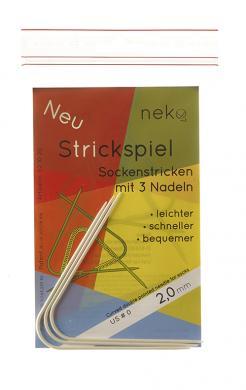 Großhandel Neko Strickspiel für Socken