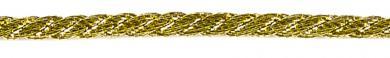 Kordel 2mm gold/silber