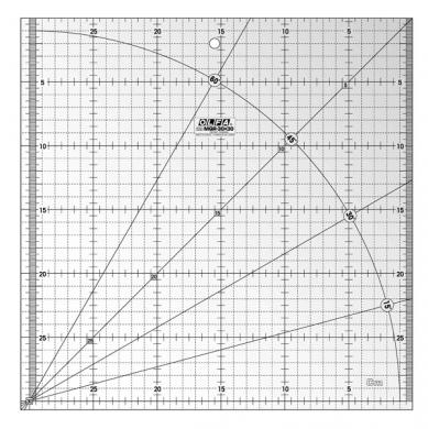 Wholesale Patchwork Ruler 30x30cm