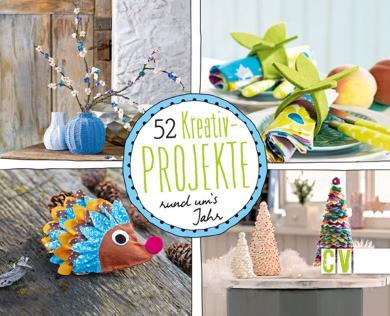 Großhandel 52 Kreativ-Projekte rund um's Jahr