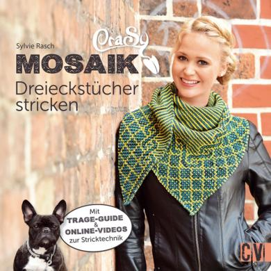 Großhandel CraSy Mosaik - Dreieckstücher stricken