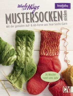 Großhandel Woolly Hugs Mustersocken stricken