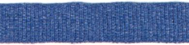 Ripsband 10mm Jeans