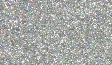 Großhandel Glitzerstoff-Zuschnitt Silber 66x45cm