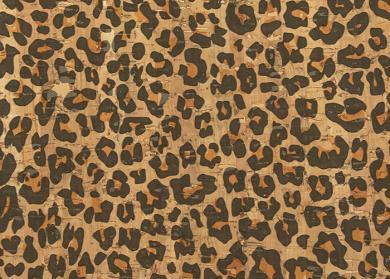Wholesale Cork Fabric Leopard