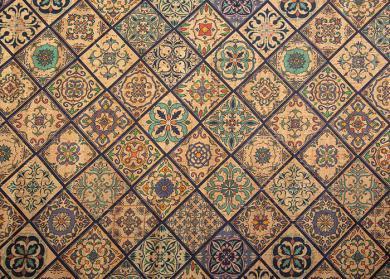 Cork Fabric Tiles Valencia