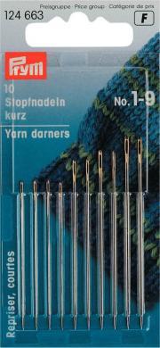 Großhandel Stopfnadeln kurz ST 1-9 silberfarbig/goldfarbig