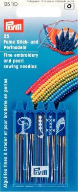 Großhandel Stick- und Perlnadeln ST silberfarbig/goldfarbig sortiert