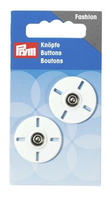 sew on buttons 25mm white