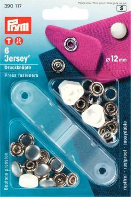 Großhandel NF-Druckknopf Jersey MS Perlkappe 12 mm