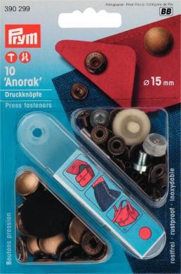 Großhandel NF-Druckknopf Anorak