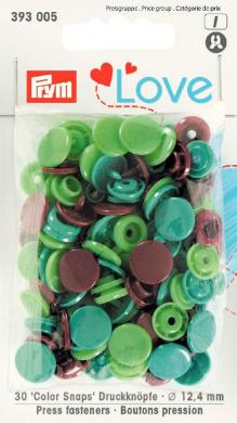 Prym Love Color press. fast. pl. 12.4mm