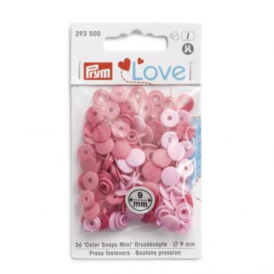 NF Color Snaps Mini Mischpackung rosa