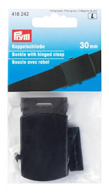Großhandel Koppelschließe 30 mm schwarz