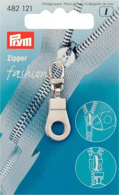Großhandel Fashion-Zipper Öse silberfarbig