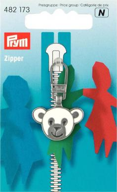 Fashion-Zipper für Kinder Bär
