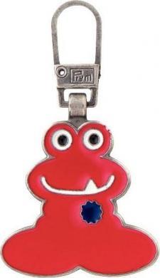 Großhandel Fashion-Zipper f.Kinder Funmotiv rot