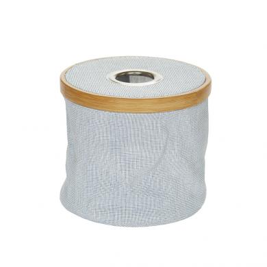 Wholesale Wool dispenser Canvas & Bamboo foldable blue