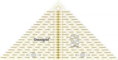 Großhandel Flottes Dreieck 1/4 Quadrat cm