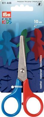 Großhandel Kinderschere 'Prym for Kids' 4'' 10 cm Griff blau/rot