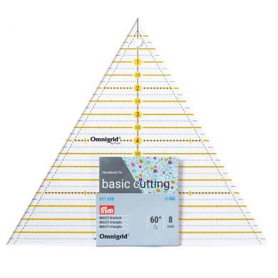 Patchwork-Lineal 60 Grad Dreieck Multi 8 inch Omnigrid