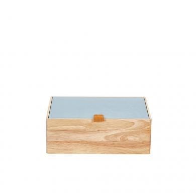 Großhandel Sortimentsbox Holz S blau