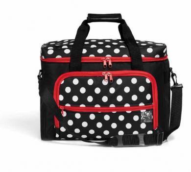 Großhandel Nähmaschinen-Tasche Polka Dots