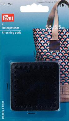 Großhandel Fixierpatches für Taschengriff 5,5 x 5,5 cm schwarz