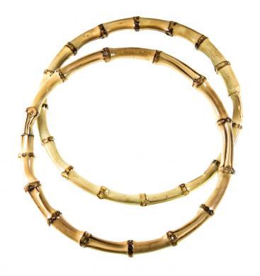 Taschengriff Bambus rund d=15cm