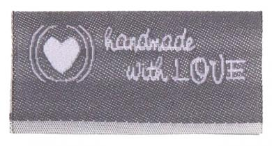 Label handmade with love
