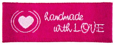 Applikation handmade with love